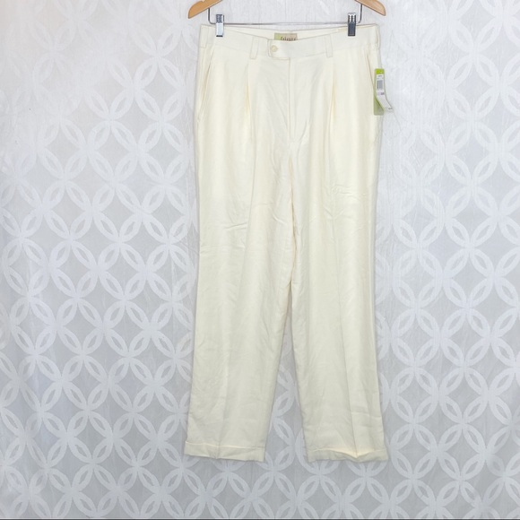 5 for $25| Cubavera Ivory Casual Pants NWT